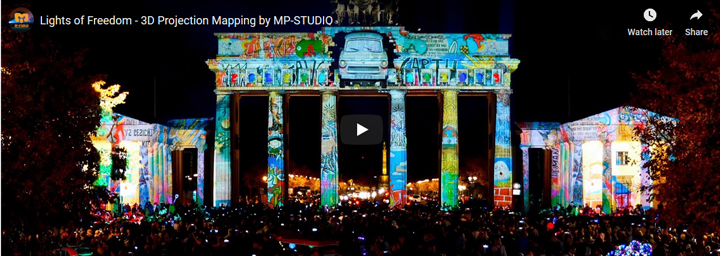 MP-Studio, 3D projection mapping